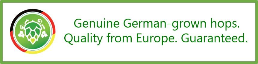 Genuine German-Grown Hops